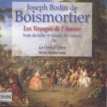 Joseph Bodin de Boismortier (1689-1755): Les Voyges De L'Amour (Ballett-Suite), CD