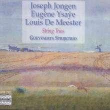 Joseph Jongen (1873-1953): Streichtrio op.135, CD
