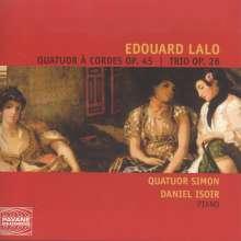 Edouard Lalo (1823-1892): Streichquartett op.45, CD