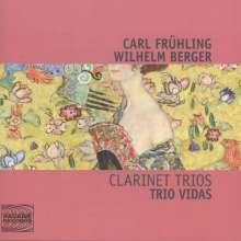 Carl Frühling (1868-1937): Klarinettentrio op.40, CD