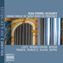 Jean-Pierre Lecaudey - Grand Orgue de Saint-Remy-De-Provence, CD