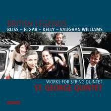 St. George Quintet - British Legends, CD