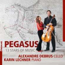 Alexandre Debrus - Pegasus (13 Stars of Music), CD