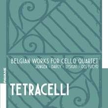 Tetracelli - Belgian Works for Cello Quartet, CD