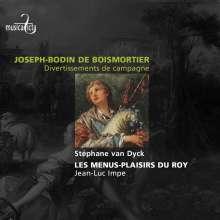 Joseph Bodin de Boismortier (1689-1755): Suiten für Flöte solo, CD