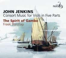 John Jenkins (1592-1678): Consort Music of Five Parts, CD