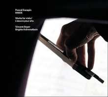 "Pascal Dusapin (geb. 1955): Werke für Viola ""Inside"", CD"
