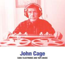John Cage (1912-1992): Early Electronic And Tape Music, LP