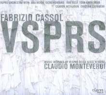 Fabrizio Cassol (geb. 1964): Musik inspiriert von Monteverdis Vespro Della Beata Virgine, CD