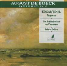 August de Boeck (1865-1937): Symphonie in G, CD