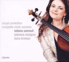 Serge Prokofieff (1891-1953): Sonaten für Violine & Klavier Nr.1 & 2, 2 CDs