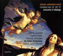 Johann Sebastian Bach (1685-1750): Kantaten BWV 32,49,57, CD