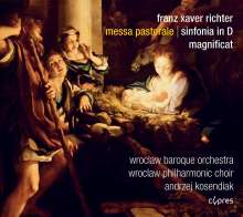 Franz Xaver Richter (1709-1789): Messa Pastorale, CD