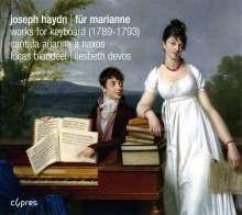 """Joseph Haydn (1732-1809): Klavierwerke """"Für Marianne"""", CD"""