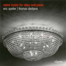Eric Speller - Salon music for oboe and piano, CD