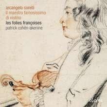 Arcangelo Corelli (1653-1713): Sonaten für 2 Violinen & Bc op.1 Nr.9 & 11 & op.2 Nr.6 & 12, CD