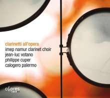 Imep Namur Clarinet Choir, CD