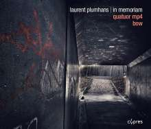 "Laurent Plumhans (geb. 1984): Kammermusik ""In Memoriam"", CD"
