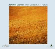 Salvatore Sciarrino (geb. 1947): Klaviersonaten Nr.2-5, CD