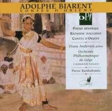 Adolphe Biarent (1871-1916): Contes d'Orient, CD