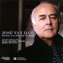 Jose van Dam - Recital At La Monnaie/De Munt, CD