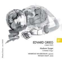 """Edvard Grieg (1843-1907): Lieder & Klavierwerke """"Moderen Synger"""", CD"""