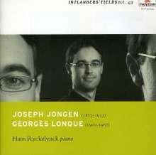 Joseph Jongen (1873-1953): Suite für Klavier, CD