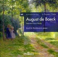 August de Boeck (1865-1937): Klavierwerke, CD