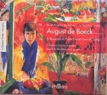 August de Boeck (1865-1937): Französische & Flämische Lieder, CD