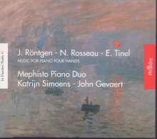 Mephisto Piano Duo - J. Röntgen / N. Rosseau / E. Tinel, CD
