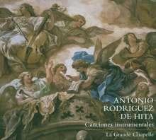Antonio Rodriguez de Hita (1722-1787): Canciones Instrumentales, CD