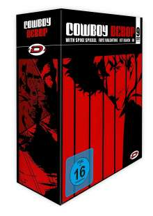 Cowboy Bebop (Gesamtausgabe), 9 DVDs