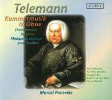 Georg Philipp Telemann (1681-1767): Kammermusik für Oboe, CD