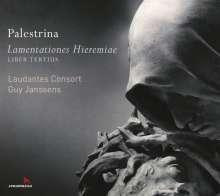 Giovanni Pierluigi da Palestrina (1525-1594): Lamentationes Hieremiae (Buch 3), 2 CDs