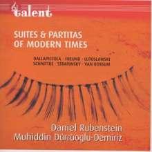 Daniel Rubinstein - Suites & Partitas of Modern Times, CD