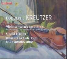Rodolphe Kreutzer (1766-1831): Violinkonzerte Nr.9 & 13, CD