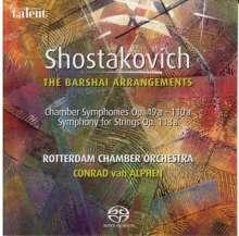 Dmitri Schostakowitsch (1906-1975): Kammersymphonien opp.49a,110a,118a, SACD