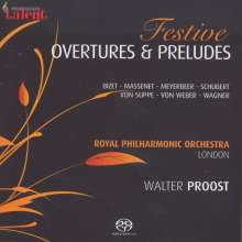 Royal Philharmonic Orchestra - Festive Overtures & Preludes, CD