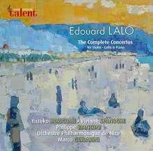 Edouard Lalo (1823-1892): Sämtliche Konzerte, CD