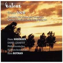 Ernst Toch (1887-1964): Klavierkonzert Nr.2, CD