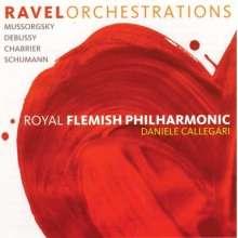 Royal Flemish Philharmonic - Ravel Orchestrations, CD