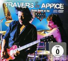 Pat Travers & Carmine Appice: Boom Boom At House Of Blues (CD + DVD), 1 CD und 1 DVD