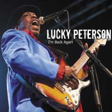Lucky Peterson: I'm Back Again: Live In Berlin 2012, CD