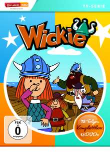 Wickie und die starken Männer (Komplettbox), 12 DVDs