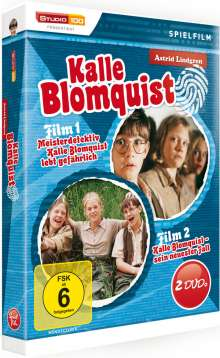 Kalle Blomquist lebt gefährlich / Kalle Blomquist und sein neuester Fall, 2 DVDs
