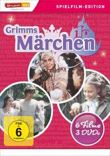Grimms Märchen Box (6 Filme auf 3 DVDs), 3 DVDs