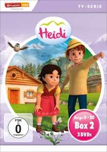 Heidi (CGI) Box 2, 3 DVDs