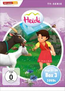 Heidi (CGI) Box 3, 3 DVDs