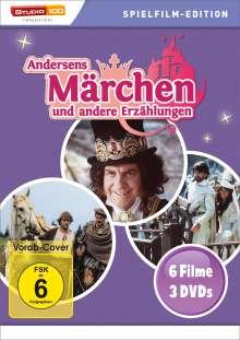 Andersens Märchen und andere Erzählungen (6 Filme auf 3 DVDs), 3 DVDs