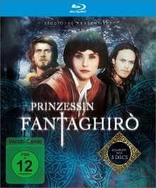 Prinzessin Fantaghirò (Blu-ray), 5 Blu-ray Discs